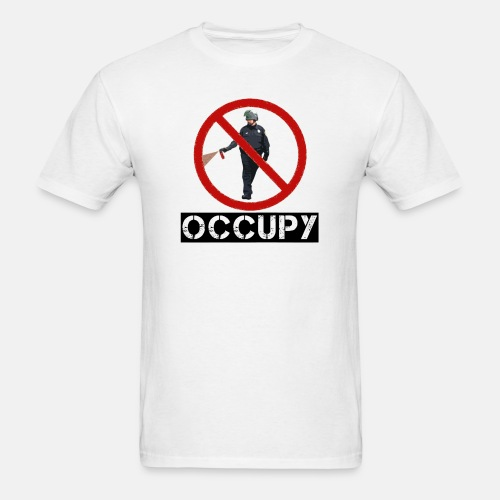 Pepper Spray Guy Occupy - Men's T-Shirt