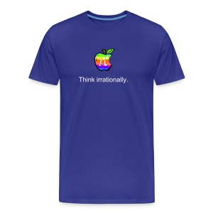 Pi Day: Think Irrationally Men's T - Men's Premium T-Shirt
