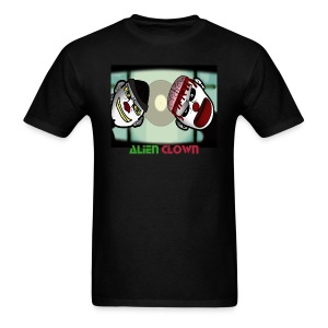 On the table Alien Clown animated Men's T  - Men's T-Shirt