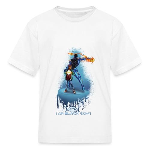 Kid's I AM BLACK SCI-FI - Kids' T-Shirt