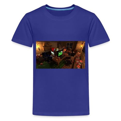 Seanz Gaming Hideout - Kids' Premium T-Shirt