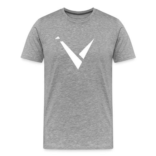 Vexento Shirt (Mens T-Shirt) [Grey] - Men's Premium T-Shirt