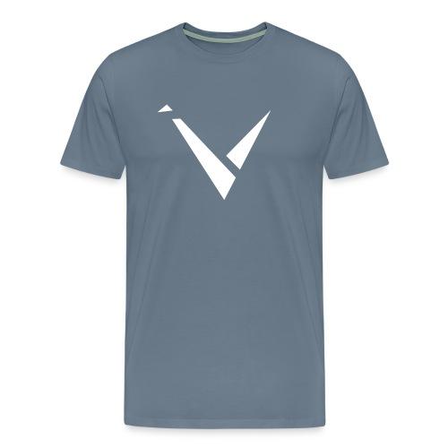 Vexento Shirt (Mens T-Shirt) [Blue] - Men's Premium T-Shirt