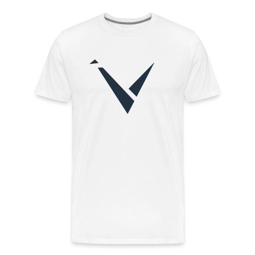 Vexento Shirt (Mens T-Shirt) [White] - Men's Premium T-Shirt