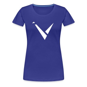 Vexento Shirt (Womens T-Shirt) [Royal Blue] - Women's Premium T-Shirt