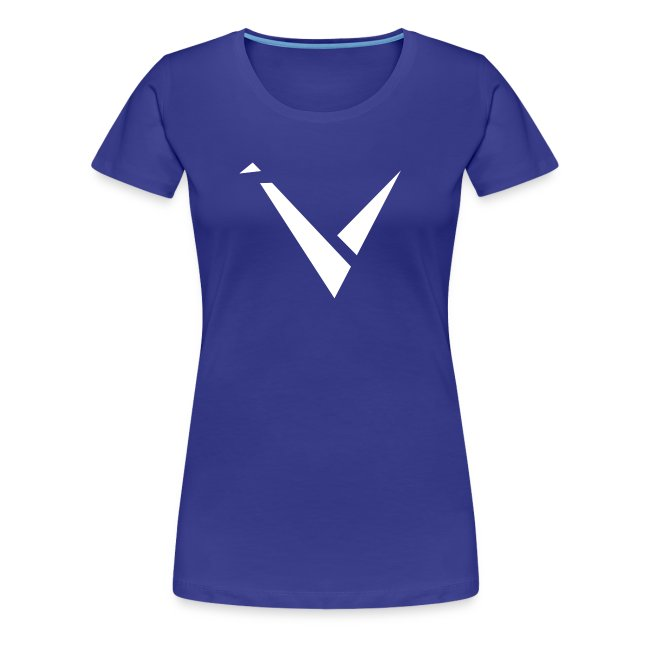 Vexento Shirt (Womens T-Shirt) [Royal Blue]