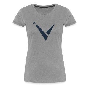 Vexento Shirt (Womens T-Shirt) [Grey] - Women's Premium T-Shirt