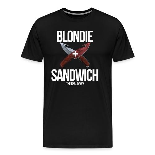 Sandwich + Blondie - Men's Premium T-Shirt