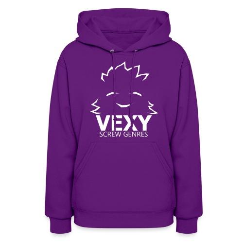Vexy Hoodie (Womens) [Purple] - Women's Hoodie
