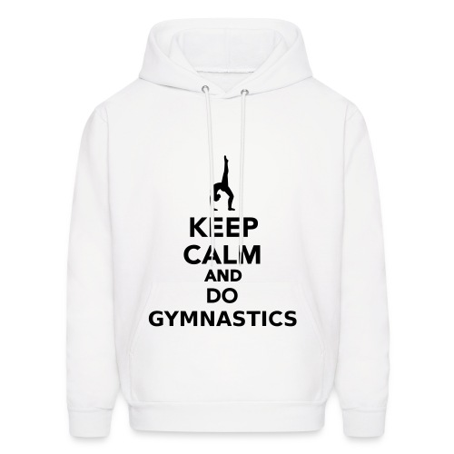 keep calm gym - Men's Hoodie