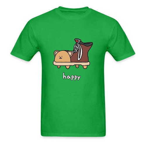Happy Shoebear - Men's - Men's T-Shirt