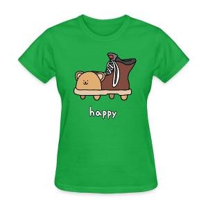 Happy Shoebear - Women's - Women's T-Shirt
