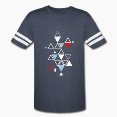 triangle pattern T-Shirts