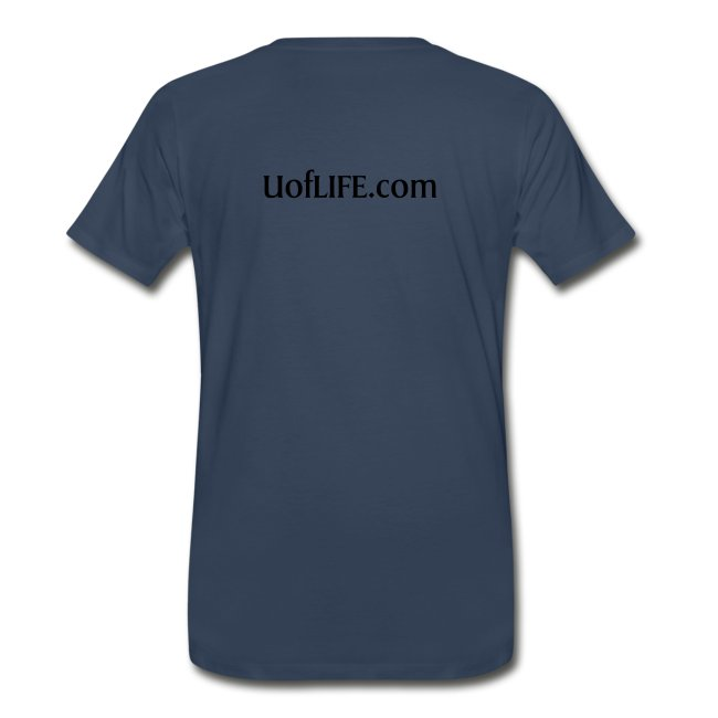 University of Life logo + address on back