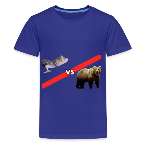 Gecko VS Bear - Kids - Kids' Premium T-Shirt