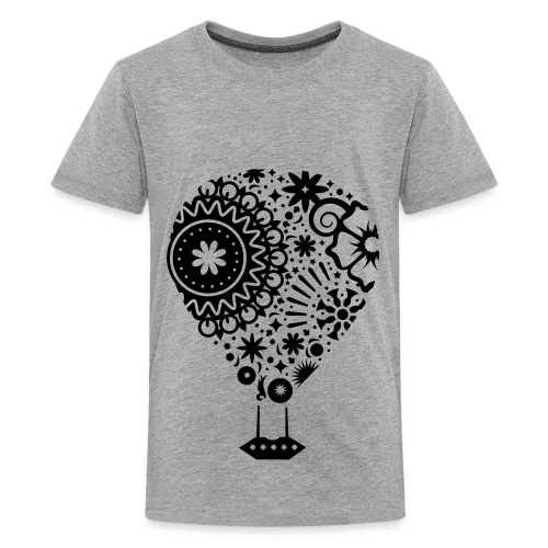 Hot Air Balloon Art - Premium Kid's T-Shirt - Kids' Premium T-Shirt