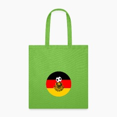 Germany flag with soccer ball Bags & backpacks