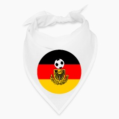 Germany flag with soccer ball Caps