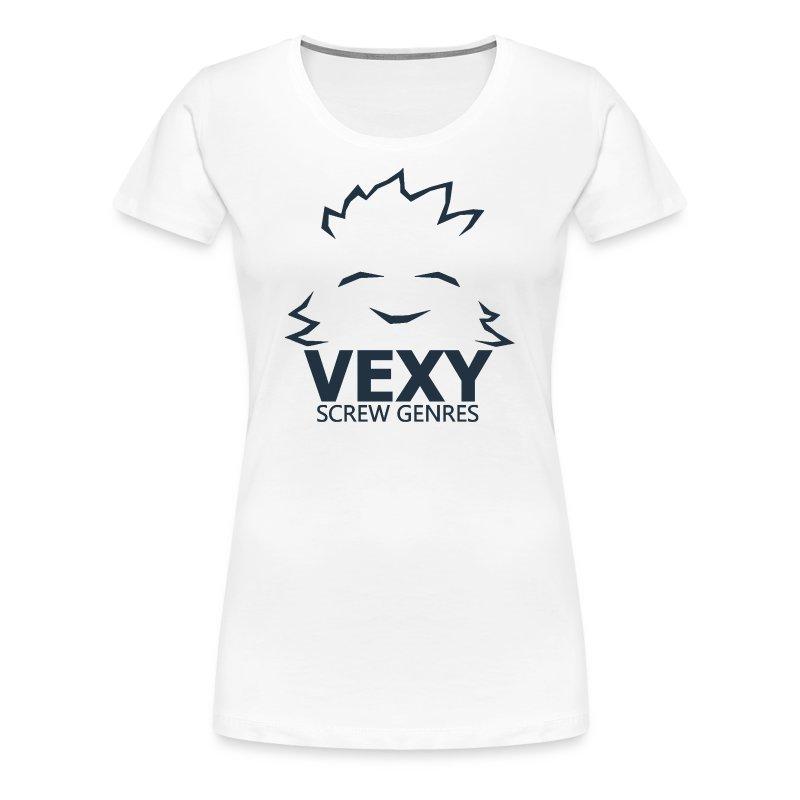 Vexy Shirt (Womens T-Shirt) [White] - Women's Premium T-Shirt