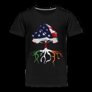 Baby & Toddler Shirts ~ Toddler Premium T-Shirt ~ USA Irish Roots