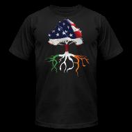 T-Shirts ~ Men's T-Shirt by American Apparel ~ USA Irish Roots