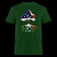 T-Shirts ~ Men's T-Shirt ~ USA Irish Roots
