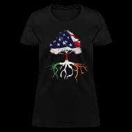 Women's T-Shirts ~ Women's T-Shirt ~ USA Irish Roots