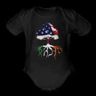 Baby Bodysuits ~ Baby Short Sleeve One Piece ~ USA Irish Roots