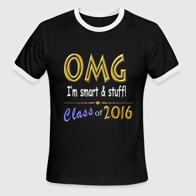 Graduation class of 2016 men 39 s ringer t shirts t shirt for Class of 2016 shirt designs
