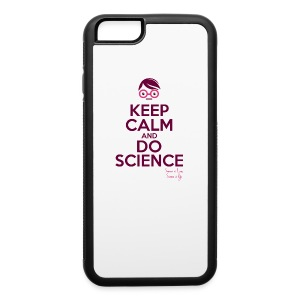 Keep calm and do science is love iPhone 6 Rubber Case - iPhone 6/6s Rubber Case