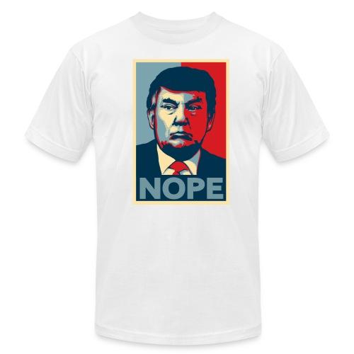 Trump NOPE American Apparel Shirt - Men's Fine Jersey T-Shirt
