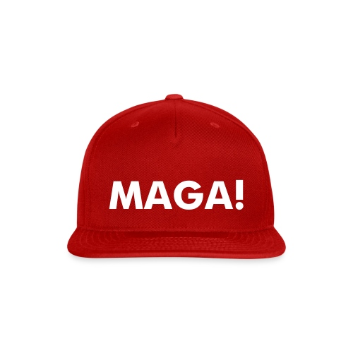 The Donald MAGA! Hat - Snap-back Baseball Cap