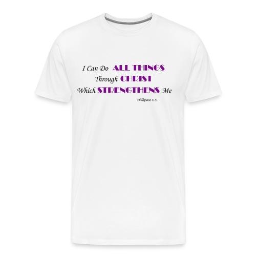 Phillipians 413 - Men's Premium T-Shirt