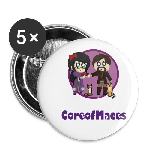 Core of Maces Badge - Small Buttons