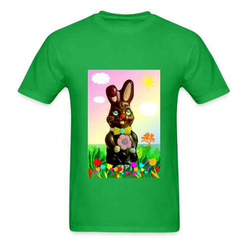 chocolate rabbit - Men's T-Shirt