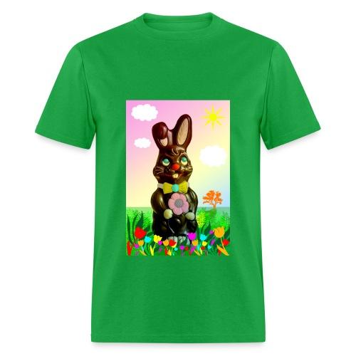 chocolate rabbit - Men's T-Shirt