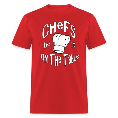 chef's do it in the dark - Men's T-Shirt