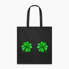 Canvas Tote Bag   Clover Bra