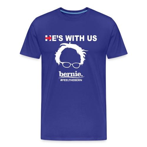 He's With US - Men's Premium T-Shirt