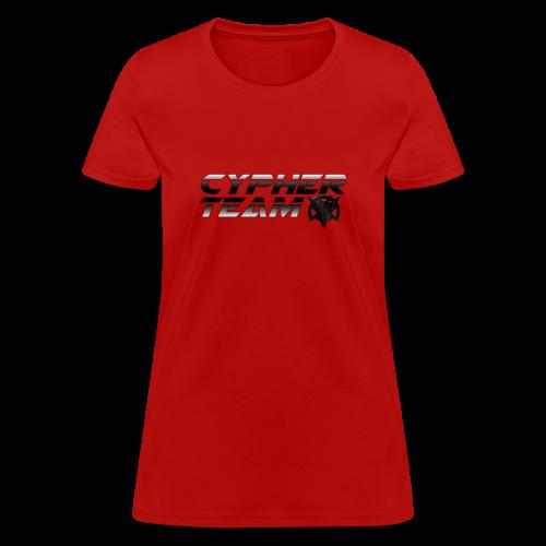Cypher Team Womens Title Art Tee - Women's T-Shirt