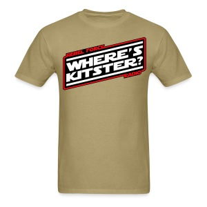 WHERE'S KITSTER? Official Men's T-Shirt - Men's T-Shirt