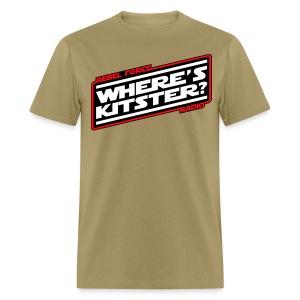 WHERE'S KITSTER? Official Men's T-Shirt - Men's T-Shirt