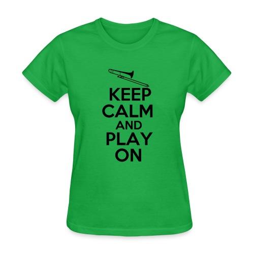 Women's Keep Calm T-Shirt - Women's T-Shirt