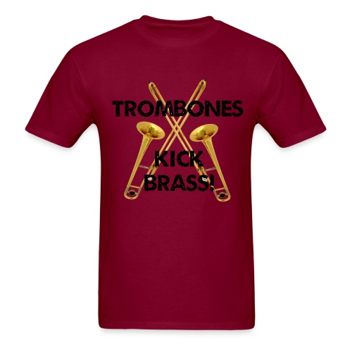 Men's Kick Brass T-Shirt - Men's T-Shirt