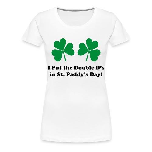 Double D's  Tee (Women's) - Women's Premium T-Shirt