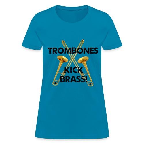 Women's Kick Brass T-Shirt - Women's T-Shirt
