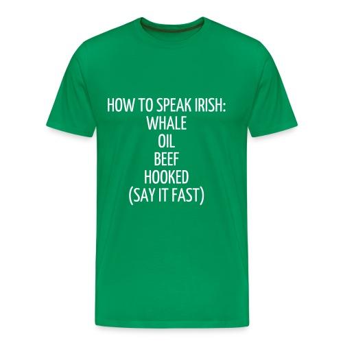 How To Tee (men's) - Men's Premium T-Shirt