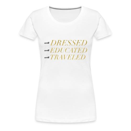LiveLifeWell Slogan Tee - Women's Premium T-Shirt