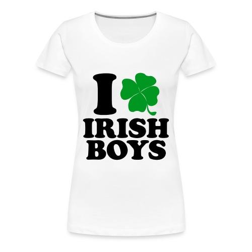 Irish Boys Tee (Women's) - Women's Premium T-Shirt