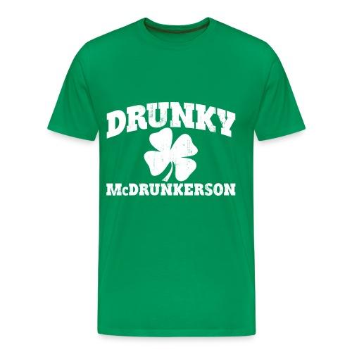 Drunky Tee (men's) - Men's Premium T-Shirt